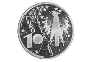 10 Euro Silbermünze