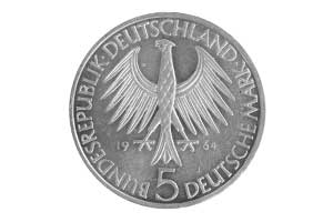 5 Mark, Johann Gottlieb Fichte