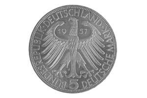 5 Mark, Joseph Freiherr von Eichendorff