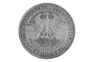 5 Mark, Ludwig Wilhelm Markgraf