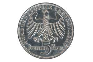 5 Mark, Friedrich Schiller