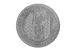 5 Mark, Gottfried Wilhelm Leibniz
