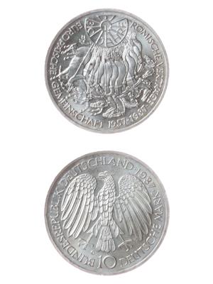 10 Mark, 30 Jahre Römische Verträge
