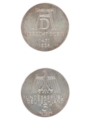 5 Mark, Albrecht Dürer