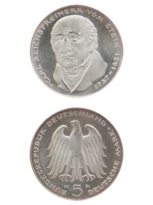 5 Mark, Carl Reichsfreiherr vom und zum Stein