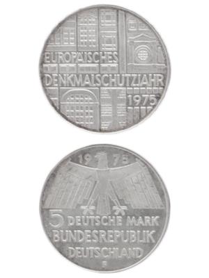 5 Mark, Europäisches Denkmalschutzjahr