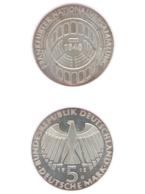5 Mark, Frankfurter Nationalversammlung