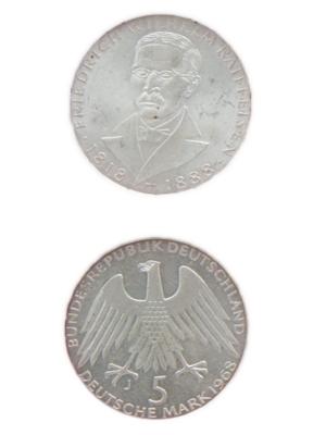 5 Mark, Friedrich Wilhelm Raiffeisen