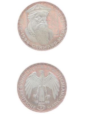 5 Mark, Gerhard Mercator