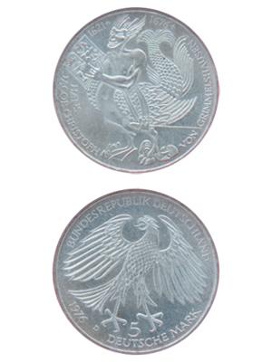 5 Mark, Hans Jacob Christoph von Grimmelshausen