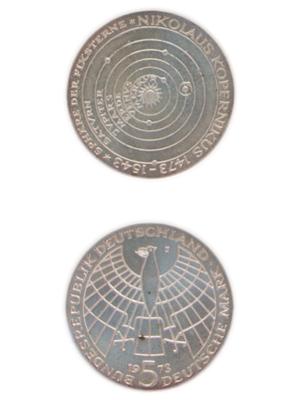 5 Mark, Nikolaus Kopernikus