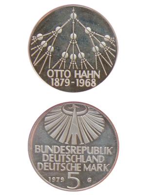 5 Mark, Otto Hahn