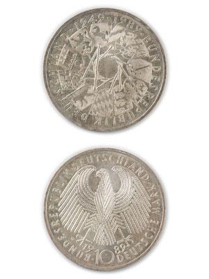 10 Mark, 40 Jahre Bundesrepublik Deutschland