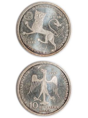 10 Mark, Heinrich der Löwe