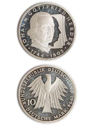 10 Mark, Johann Gottfried Herder