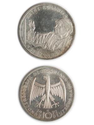 10 Mark, Käthe Kollwitz
