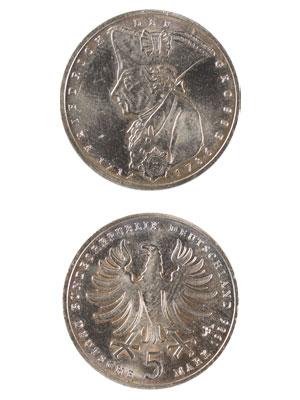 5 Mark, Friedrich der Große